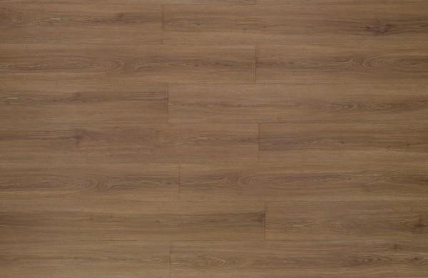 Restposten Klick Vinyl Designboden mit integrierter Trittschalldämmung, MEFO FLOOR Citrin, 6,5 x 180 x 1220 mm, Kanten gefast, Beanspruchungsklasse 33/42, Nutzschicht 0,5 mm, in Holzoptik mit SPC Trägerplatte