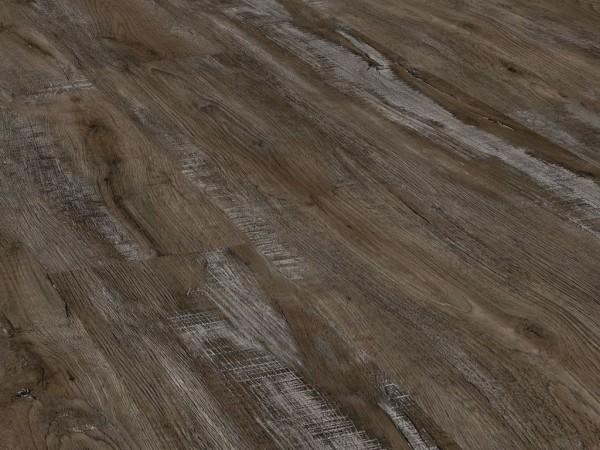 Klick Vinyl Designboden Check one Rossenray Eiche, Breitdiele, 4,0 x 229 x 1220 mm, Kanten gefast, Nutzungsklasse 23/31, Nutzschicht 0,3 mm, in Holzoptik mit stabiler RIGID Vinyl Trägerplatte