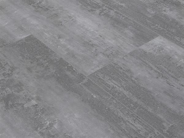 Klick Vinyl Designboden Check one Rheinpreußen Beton in Fliesenoptik XL, 4,0 x 830 x 450 mm, Kanten gefast, Nutzungsklasse 23/31, Nutzschicht 0,3 mm, mit stabiler RIGID Vinyl Trägerplatte