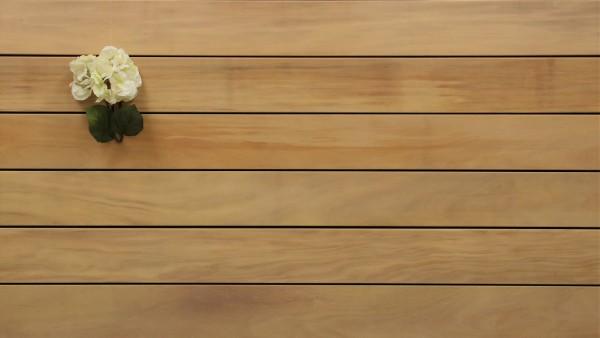 Angebot des Monats, Holzterrasse Garapa, 21 x 145 bis 6100 mm, glatt, 8,40 €/lfm, Premium (KD)