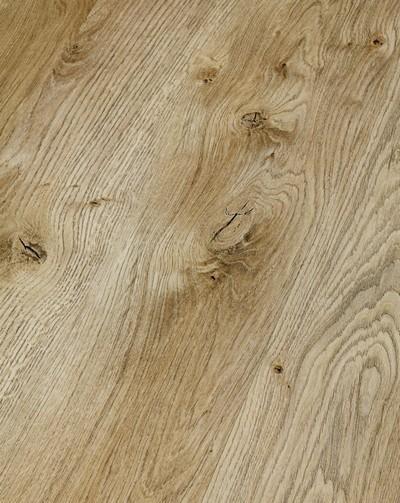 Klick Vinyl Designboden mit integrierter Trittschalldämmung, Futura Floors Kingston, 6,5 x 175 x 1210 mm, Kanten gefast, Nutzungsklasse 33/42, Nutzschicht 0,5 mm, in Holzoptik mit stabiler SPC Vinyl Trägerplatte