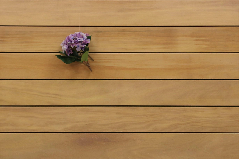 Garapa Holz Dielen für die Terrasse, 9,20 €/lfm, Premium (KD) glatt, 25 x 145 bis 6100 mm, Terrassendielen Bretter