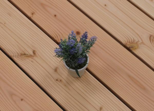 Angebot des Monats, Holzterrasse Douglasie, 26 x 145 bis 5000 mm, glatt, 5,90 €/lfm