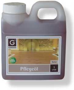Gunreben Pflegeöl in natur, 1,0 Liter zur Ersteinpflege geölter Holzböden