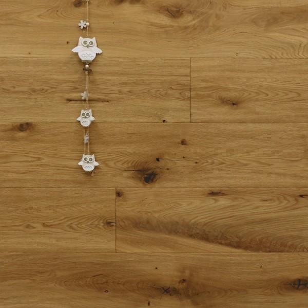 Parkettboden Eiche Loumarin aus der Serie Provence, 14 x 190 x 1900 mm, handgehobelt, leicht gebürstet, nach Kundenwunsch geölt, Välinge 5G Klick Verbindung, Sonderanfertigung