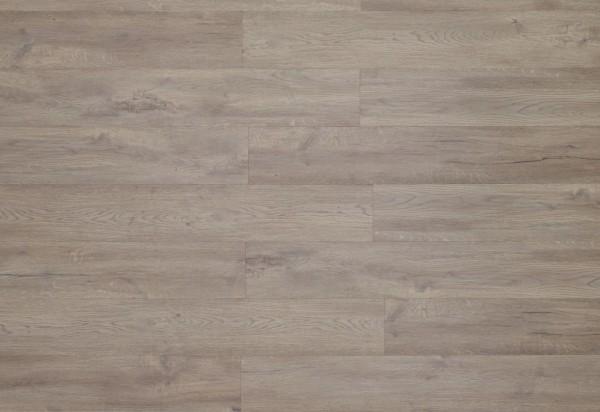 Restposten Klick Vinyl Designboden mit integrierter Trittschalldämmung, MEFO FLOOR Zirkon, 6,5 x 180 x 1220 mm, Kanten gefast, Beanspruchungsklasse 33/42, Nutzschicht 0,5 mm, in Holzoptik mit SPC Trägerplatte