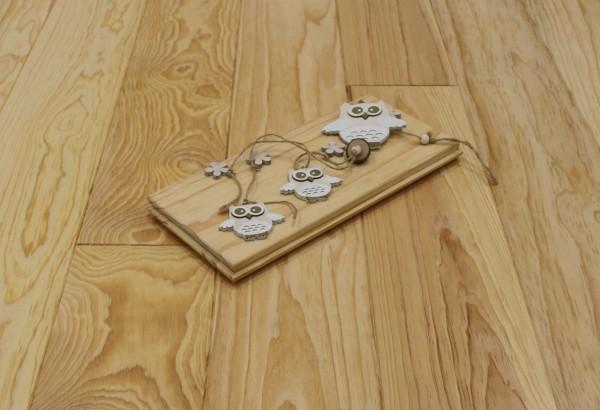 Dielenboden Pitch Pine, 20 x 185 mm, Längen von 2500 bis 6100 mm, optional in Fixlänge, Natur, massiv, Kanten gefast, Nut / Feder Verbindung, Sonderanfertigung nach Kundenwunsch