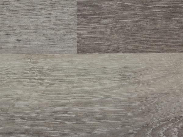 Klick Vinyl Designboden Check one Waltrop Eiche in Holzoptik, 4,0 x 180 x 1220 mm, scharfkantig, Nutzungsklasse 23/31, Nutzschicht 0,3 mm, mit stabiler RIGID Vinyl Trägerplatte