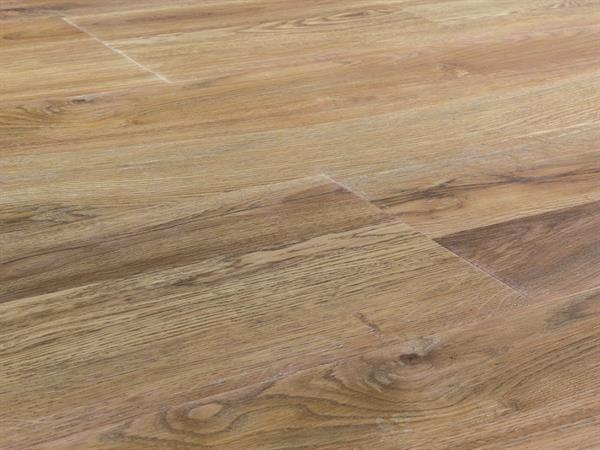 Klick Vinyl Designboden Check one Victoria Eiche, Breitdiele, 4,0 x 227 x 1220 mm, Kanten gefast, Nutzungsklasse 33/42, Nutzschicht 0,55 mm, in Holzoptik mit stabiler RIGID Vinyl Trägerplatte