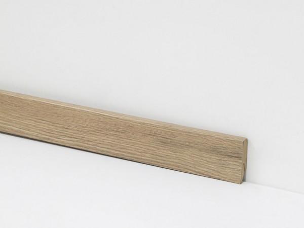 Vinyl Sockelleiste von Check, 2058 Carl Eiche mit 18 x 58 x 2400 mm