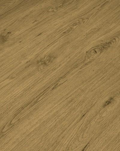 Klick Vinyl Designboden mit integrierter Trittschalldämmung, Futura Floors Cambridge, 6,5 x 175 x 1210 mm, Kanten gefast, Nutzungsklasse 33/42, Nutzschicht 0,5 mm, in Holzoptik mit stabiler SPC Vinyl Trägerplatte