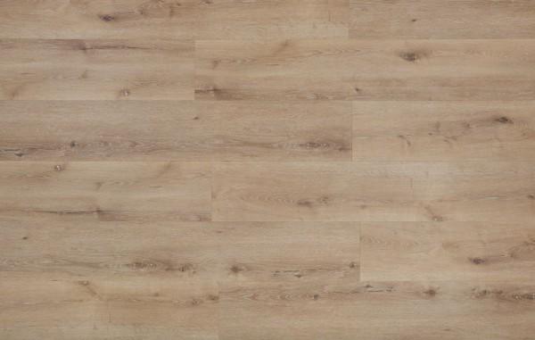 Klick Vinyl Designboden mit integrierter Trittschalldämmung, MEFO FLOOR Saphir, Breitdiele, 6,5 x 228 x 1524 mm, Kanten gefast, Nutzungsklasse 33/42, Nutzschicht 0,5 mm, in Holzoptik mit SPC Trägerplatte