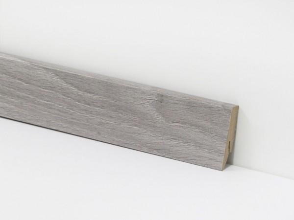 Vinyl Sockelleiste von Check, 8147 Waltrop Eiche mit 18 x 58 x 2400 mm