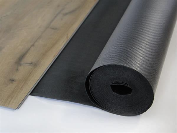 Vinyl Trittschalldämmung Akustik Silent von Gunreben, Rolle mit 10 m², 1,5 mm inkl. Dampfbremse
