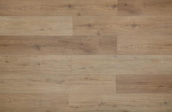 Klick Vinyl Designboden mit integrierter Trittschalldämmung, MEFO FLOOR Rubin, Breitdiele, 6,5 x 228 x 1524 mm, Kanten gefast, Nutzungsklasse 33/42, Nutzschicht 0,5 mm, in Holzoptik mit SPC Trägerplatte