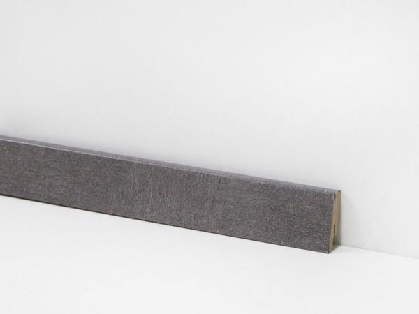 Vinyl Sockelleiste von Check, 2114 Westende Travertin mit 18 x 58 x 2400 mm