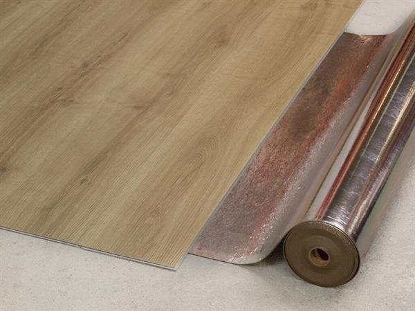 Vinyl Trittschalldämmung Premium Sound 1006 von Check, Rolle mit 8,5 m², 1,8 mm inkl. Dampfbremse