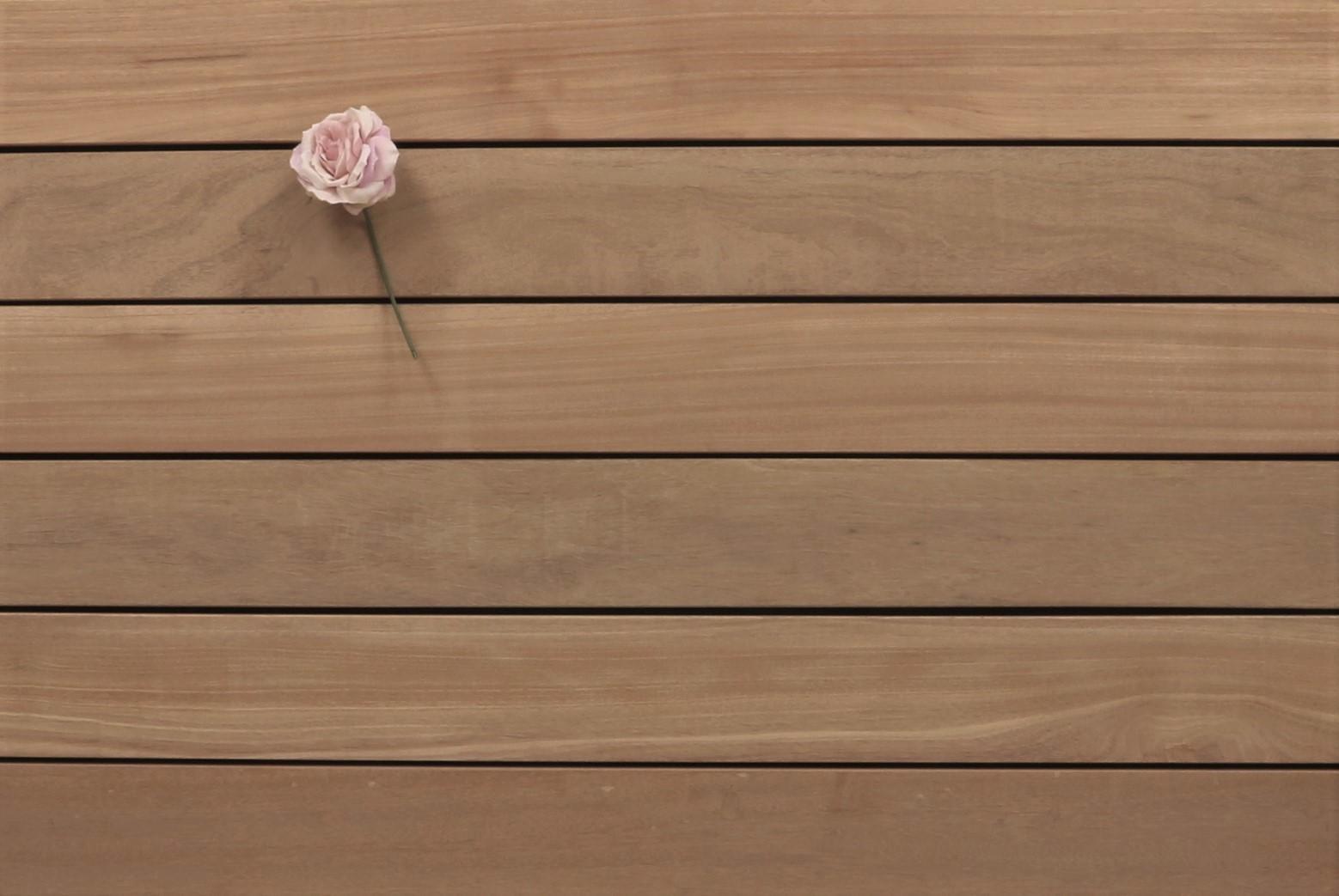 Angebot des Monats, Terrassendielen Bangkirai Premium (KD) 21 x 145 bis 4880 mm, glatt für 7,50 €/lfm