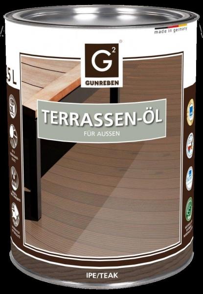 Ipe Öl von Gunreben, 2,5 Liter Terrassenöl für ca. 20-25 m²