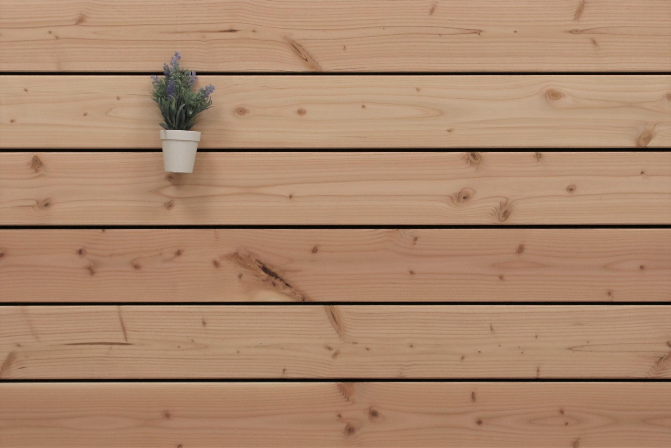 Angebot des Monats, Terrassendielen Douglasie, 26 x 145 bis 5000 mm, glatt für 5,90 €/lfm
