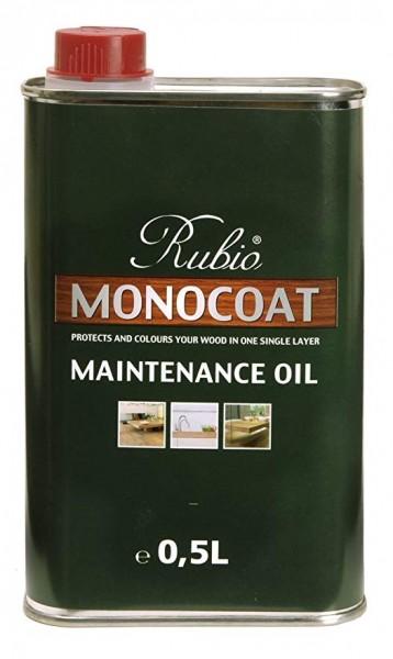 Rubio Monocoat Universal Pflegeöl, farblos, 0,5 Liter zur Auffrischung aller geölter Holzböden