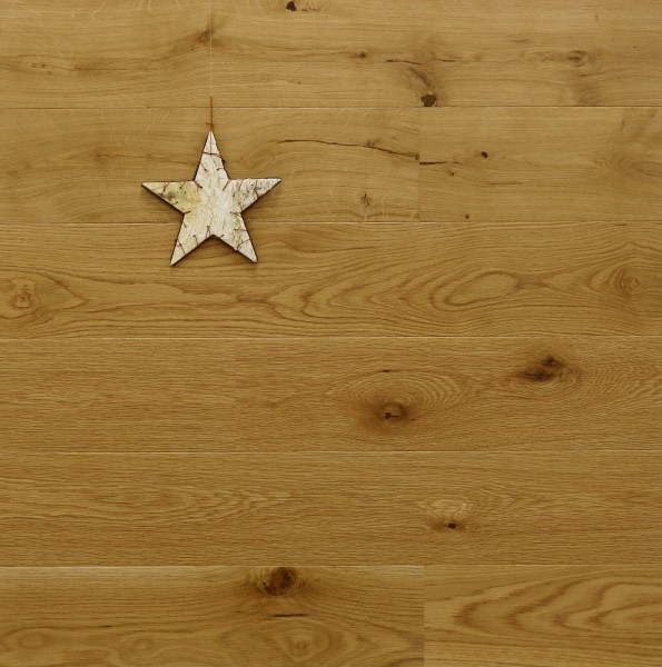 Parkettboden Eiche Loire, 14 x 155 x 2200 mm, Markant, gebürstet, UV geölt, Soft Lock Klick Verbindung