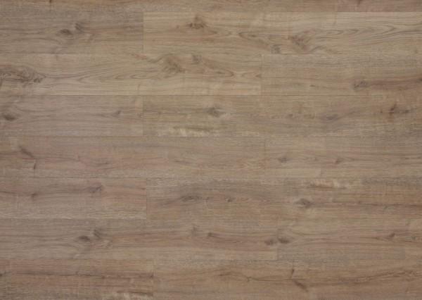 Restposten Klick Vinyl Designboden mit integrierter Trittschalldämmung, MEFO FLOOR Diamant, 6,5 x 180 x 1220 mm, Kanten gefast, Beanspruchungsklasse 33/42, Nutzschicht 0,5 mm, in Holzoptik mit SPC Trägerplatte