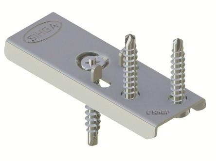 300 Stück DielenFix DF17 aus Edelstahl zur unsichtbaren Befestigung von Terrassendielen ausreichend für ca. 50-75 Laufmeter Dielen mit 19-21 mm Stärke