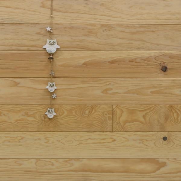 Dielenboden Pitch Pine, 20 x 135 mm, Längen von 2500 bis 6100 mm, optional in Fixlänge, Natur, massiv, Kanten gefast, Nut / Feder Verbindung, Sonderanfertigung nach Kundenwunsch