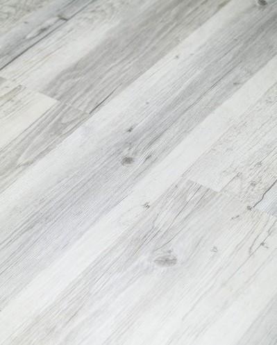 Klick Vinyl Designboden mit integrierter Trittschalldämmung, Futura Floors Nottingham, 6,5 x 175 x 1210 mm, Kanten gefast, Nutzungsklasse 33/42, Nutzschicht 0,5 mm, in Holzoptik mit stabiler SPC Vinyl Trägerplatte